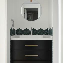 工业混搭风卫浴洗手台设计