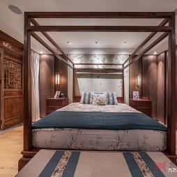 优雅中式卧室设计图片