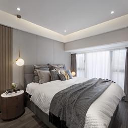 浅灰现代卧室设计图