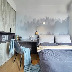 淡雅现代卧室设计图片