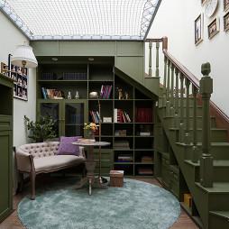 美式风别墅阁楼设计图