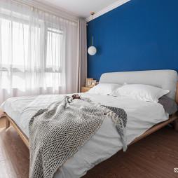 纯色简约卧室设计图