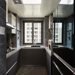 90㎡现代风格厨房设计图