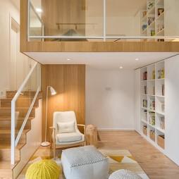 日式复式阁楼设计实景图