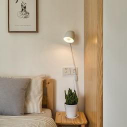 日式复式卧室台灯设计