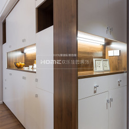 现代三居玄关设计