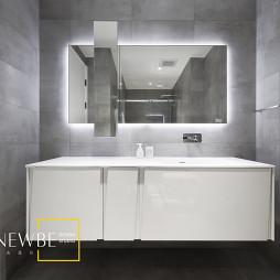 复式现代风卫浴设计