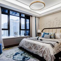 低奢大平层卧室设计图