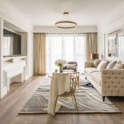 温馨新古典客厅设计图