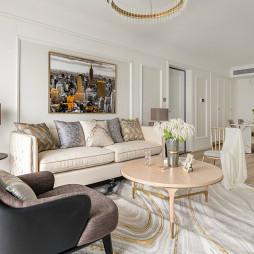 温馨新古典客厅设计图片