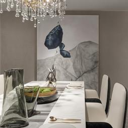 卓越天元样板房餐厅设计