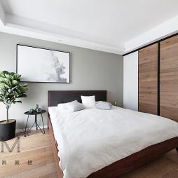 135㎡现代简约卧室设计图