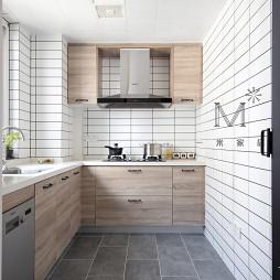 135㎡现代简约厨房设计图