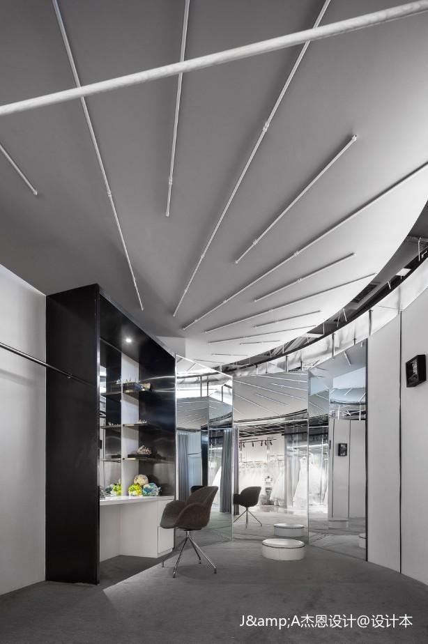 KIKI WONG婚纱店室内吊顶设计