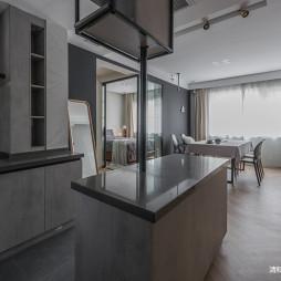 77平米现代风厨房橱柜设计