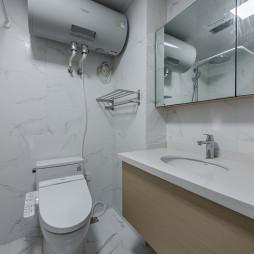 77平米现代风卫浴洗手台设计