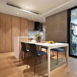 精致豪宅餐厅厨房一体设计