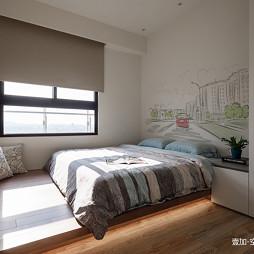观湖别墅卧室设计图片
