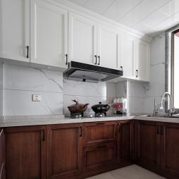 《叶园长雅居》现代厨房设计