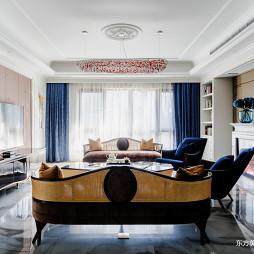 600平复式住宅客厅设计