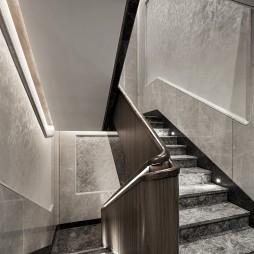 现代风雅楼梯间设计图