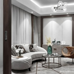 现代风雅起居室设计