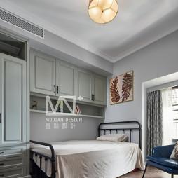 优雅美式次卧室设计图