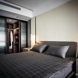 灰色系现代卧室设计