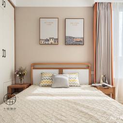 木色系北欧次卧设计