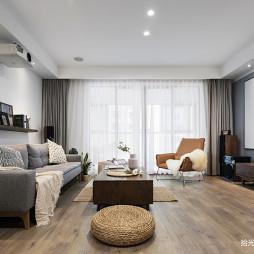 大平层现代客厅设计图片