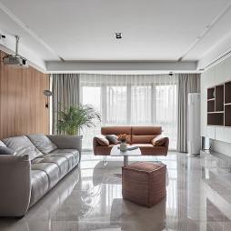 台式简约客厅设计实景图片