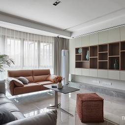 台式简约客厅储物柜设计
