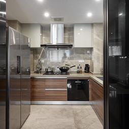 台式简约厨房设计图片