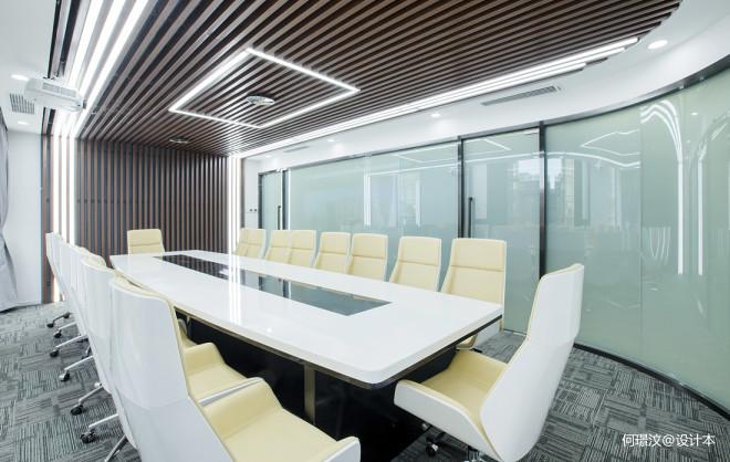 办公室绿植摆放_180万元办公空间660平米装修案例_效果图 - 优加豪斯新作   未来 ...