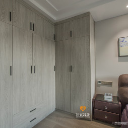 现代奢华卧室衣柜设计图