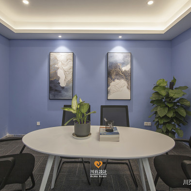 创新科技   office空间   现代与中式的融合_3495434