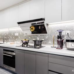 90㎡→120㎡简约厨房设计图