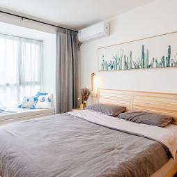 80㎡二层单身公寓主卧设计