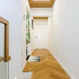 80㎡二层单身公寓过道设计