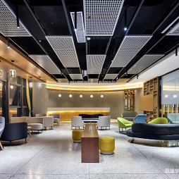 新视艺创客公园办公室洽谈区设计图