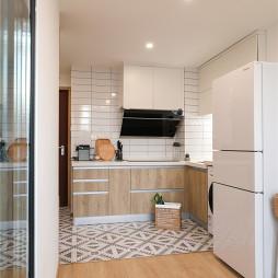 木质北欧厨房设计图片