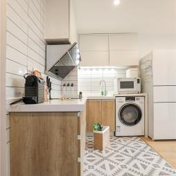 木质北欧厨房橱柜设计图