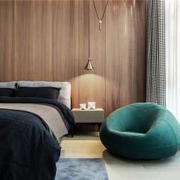 450㎡墅式卧室设计实景图