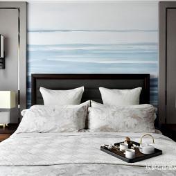 简洁中式卧室壁灯设计
