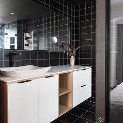 130㎡现代洗手台设计