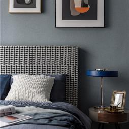 深灰蓝卧室设计图