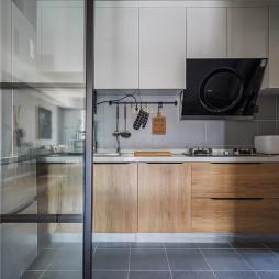 轻工业现代厨房设计