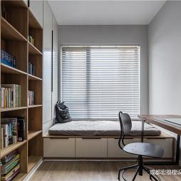轻工业现代书房设计