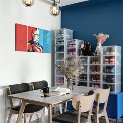 精简北欧三居餐厅设计