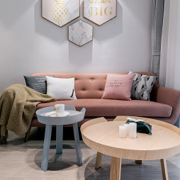 「Casting Life 乐咖生活」北欧客厅沙发图